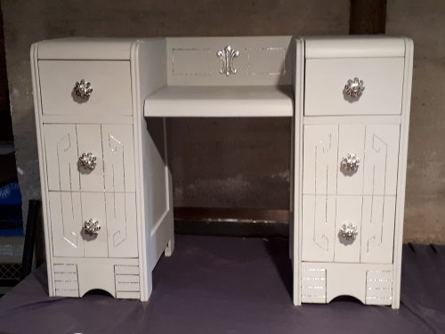 painted vanity/desk