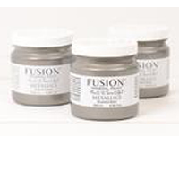 Fusion Mineral Paint Brushed Steel Metallic