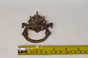 fancy antique drawer pull