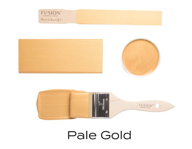 Fusion Mineral Paint Pale Gold Metallic