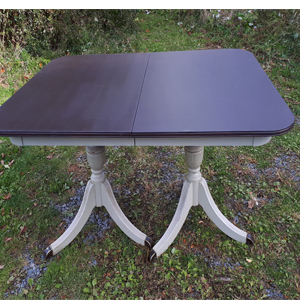 antique Duncan Phyfe table painted