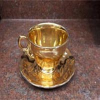 Temple Gold teacup and saucer