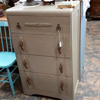 upcycled antique dresser