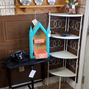 upcycled items painted