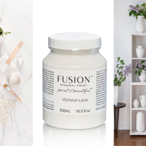 Fusion Mineral Paint Victorian Lace